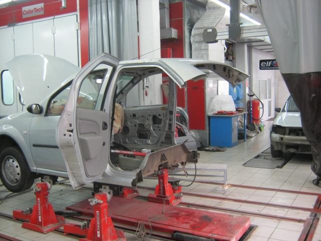 Примеры работ кузовного ремонта в сервисе Логан - Ремонт.